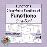 Families of Functions Card Sort