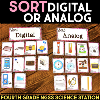 Sort Analog vs. Digital - Communication through Codes & Technology