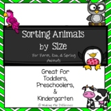 Sorting by Size: Animal Themes