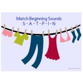 Sort Beginning Sounds - SATPIN