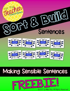 Sort & Build Sentences