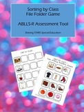 Sort By Class - ABLLS-R File Folder / Autism Teaching Tool
