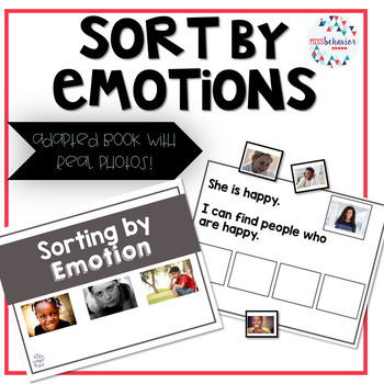 Sort By Emotion | Adapted Book