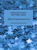 Sort By Feature - ABLLS-R File Folder / Autism Teaching To
