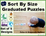 Sort By Size Graduated Puzzle Pack