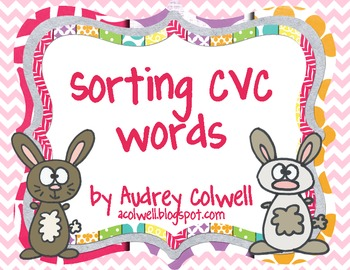 Sort CVC Words - Bunnies