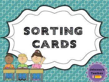Sort Cards