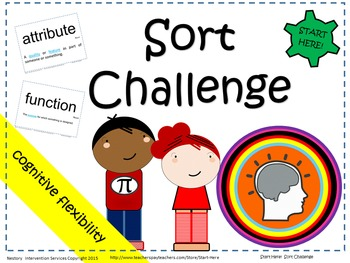 "Functions & Attributes Game - ""Sort Challenge"""