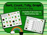 Sort, Count, Tally, Graph - St. Patrick's Day Activity Set-full color and b&w