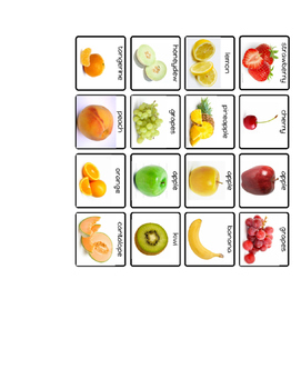 Sort Fruit by Color