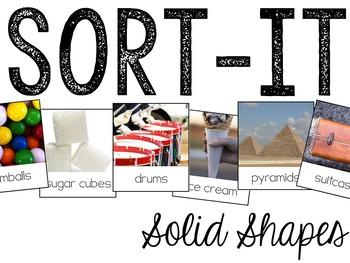 Sort-It! 3D Solid Shapes