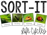 Sort-It! Animal Life Cycles