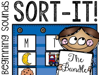 Sort-It! Beginning Sounds Collection (8 Sorting Activities)