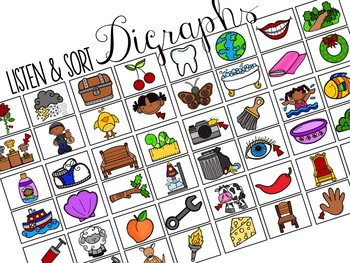 Sort-It! Digraphs (SH, CH, TH)