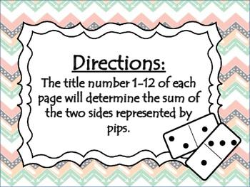 Sort It Dominoes: Addition & Subtraction