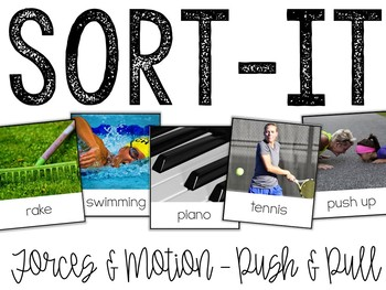 Sort-It! Forces & Motion (Push & Pull)