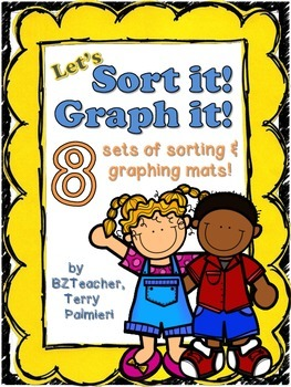 Sort It & Graph It! Differentiated Math Mats for Centers