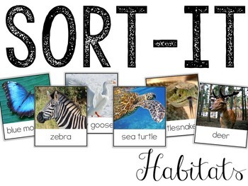 Sort-It! Habitats