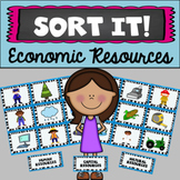 Sort It! Human, Natural, & Capital Resources