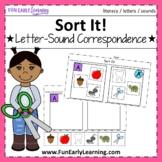 Sort It! Letter-Sound Correspondence - No Prep Interactive