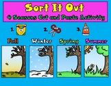 Sort It Out:  Four Seasons Cut and Paste Activity