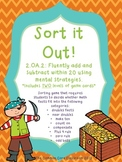 Sort It Out Game for CCSS 2.OA.2