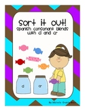 Sort It Out! Spanish Consonant Blends with cl and cr