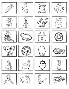 Sort It Out:  Winter Alphabet Cut and Paste Activity