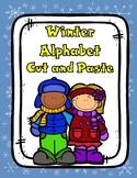 Sort It Out:  Winter Alphabet Cut and Paste Activity