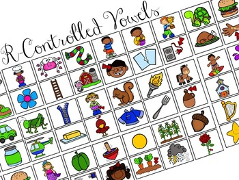 Sort-It! R-Controlled Vowels