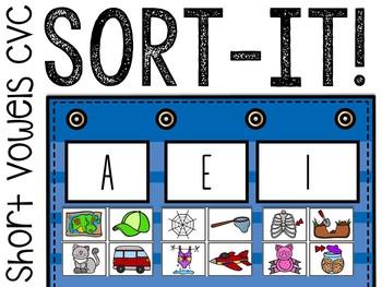 Sort-It! Short Vowel CVC Words