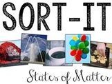 Sort-It! States of Matter (Solid, Liquid, Gas)