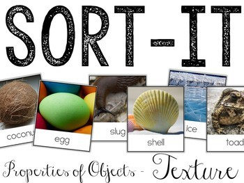 Sort-It! Texture (Properties of Objects)