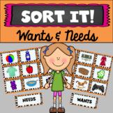 Sort It! Wants & Needs