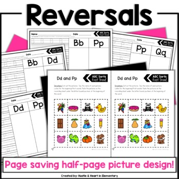 ABC Sort Me! Beginning Sound Sorts with Handwriting Practice