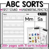 Kindergarten Beginning Sound ABC Sorts (NO PREP!)