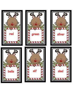 Sort Nouns and Adjectives * Christmas Reindeer