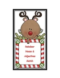 Sort Nouns and Adjectives * Christmas Reindeer