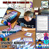 Sequencing Integers Negative & Positive Game