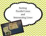 Sort Parallel and Intersecting Lines Task Boxes   AAA M ES 7.5 & M ES 8.5