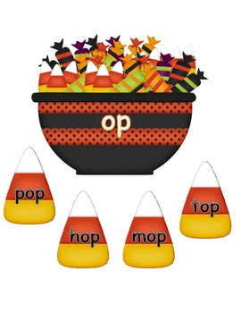 Sort Short O Words ~ Halloween Candy Sort