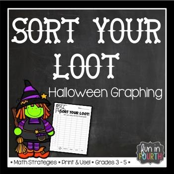 Sort Your Loot - Halloween Graphing Activity