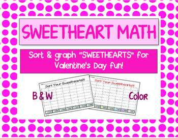 Sweetheart Math - Valentine's Day graphing