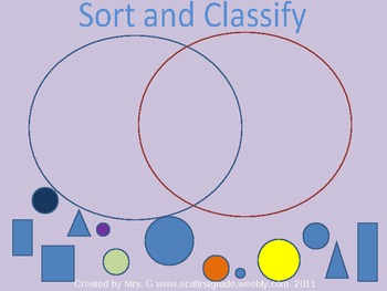 Sort and Classify Interactive Powerpoint