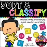 Sort and Classify (Virginia SOL K.12)