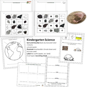 Earth, Rocks, and Soil Mini Unit