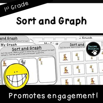 Sort and Graph-Student Mats (First Grade, 1.MD.4)