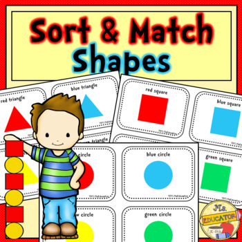 Sort and Match Shapes by Attributes
