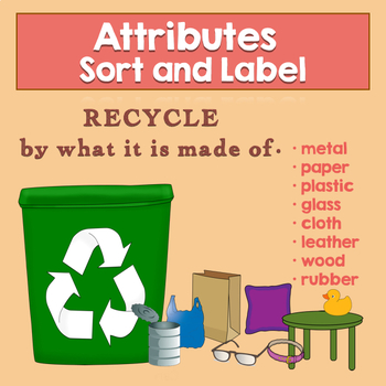 Sort and Recycle - What's it made of? - Attribute