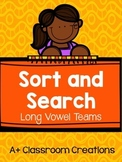 Sort and Search Long Vowel Teams
